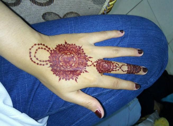 Bermacam Macam Desain Motif Henna Tell Dont Sell