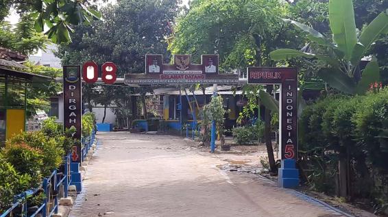 Gerbang Belakang (Jalan Baru samping tol Kunciran)